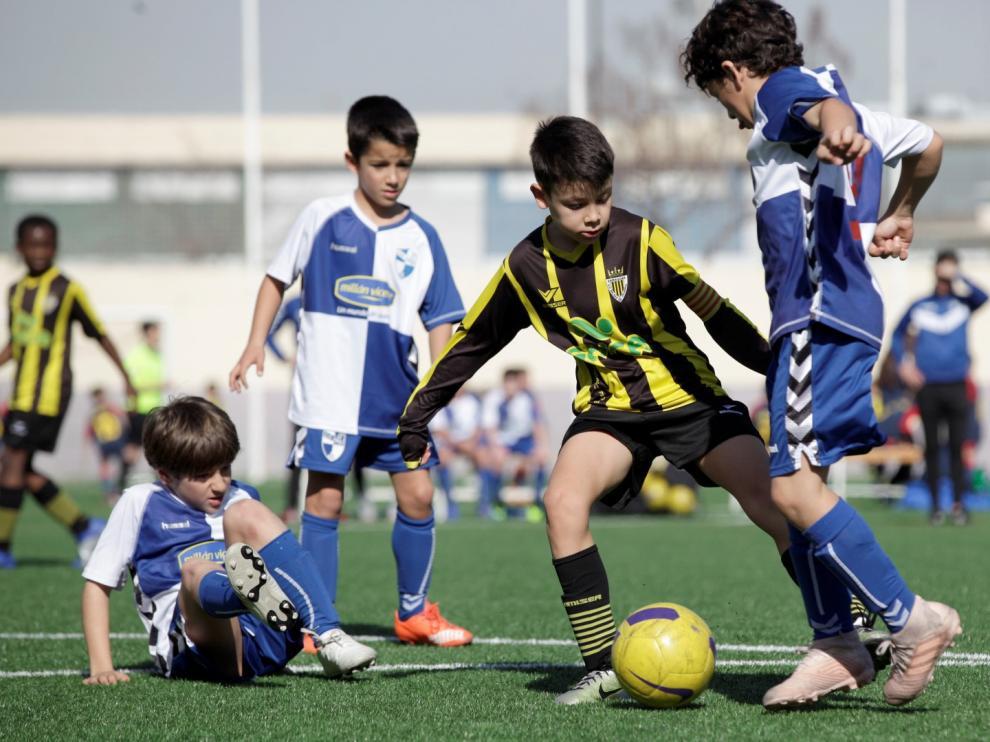 Futbol. Benjamín Preferente Balsas Picarral vs Ebro