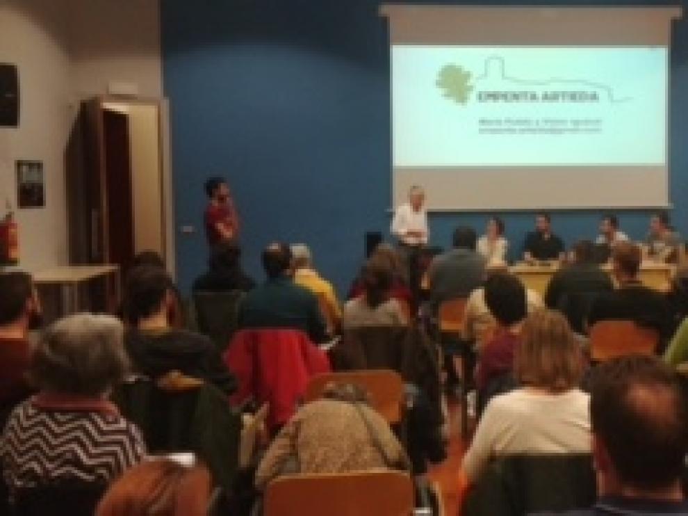 Las jornadas de difusión de Empenta Artieda en Zaragoza