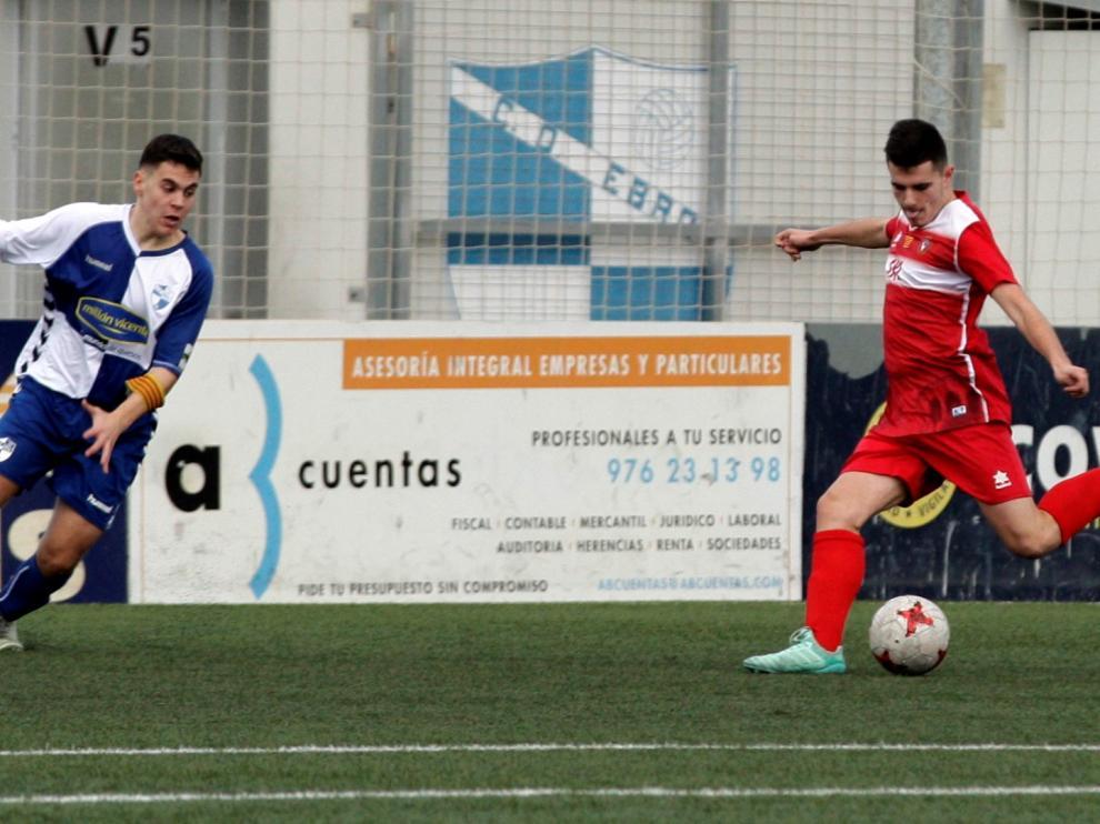 Fútbol. LNJ- Ebro vs. Escalerillas.