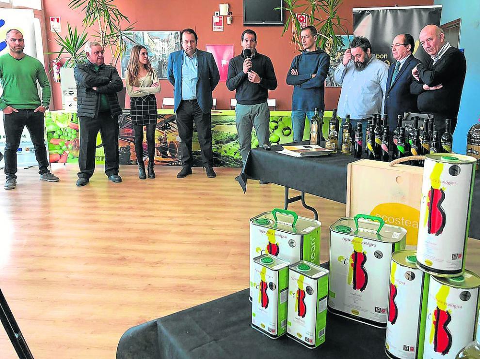 Acto de presentación de todos los aceites de la campaña del Somontano.