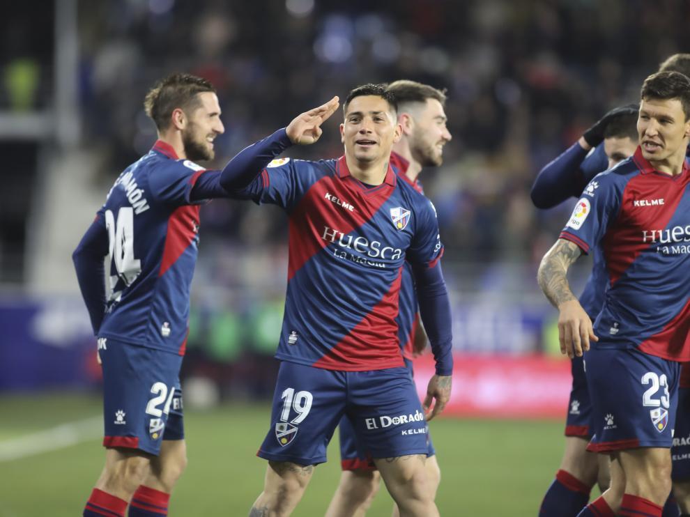 Chimy Ávila ha marcado tres goles ante Valladolid y Girona.