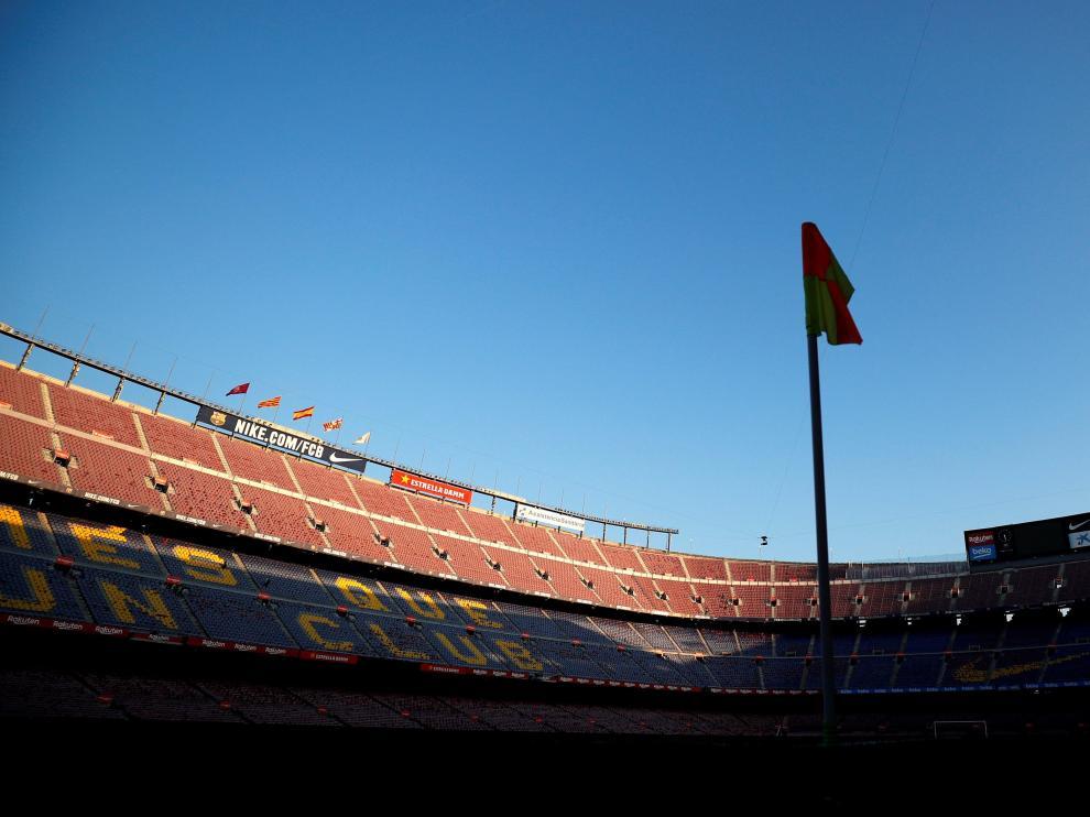El Camp Nou.
