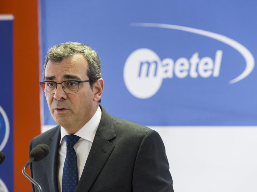 José Luis Celorrio, director general de Maetel