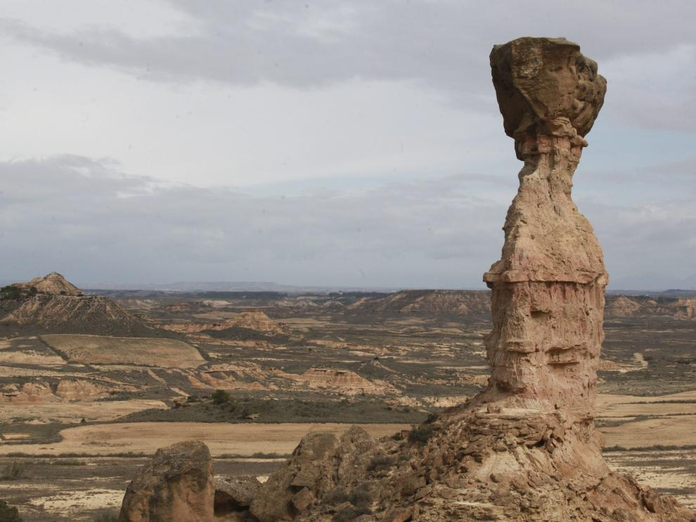 El Tozal de la Cobeta, en Jubierre, comarca de los Monegros.