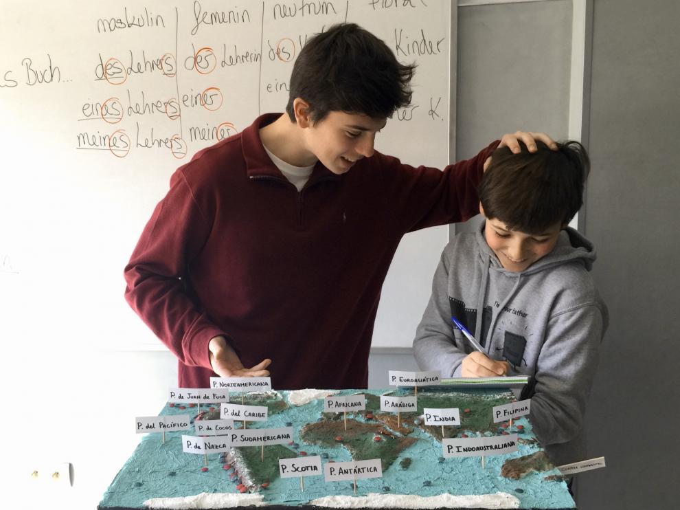 El Colegio Alemán lleva varios años logrando los mejores resultados de Aragón en los exámenes de alemán e inglés de la Evau.