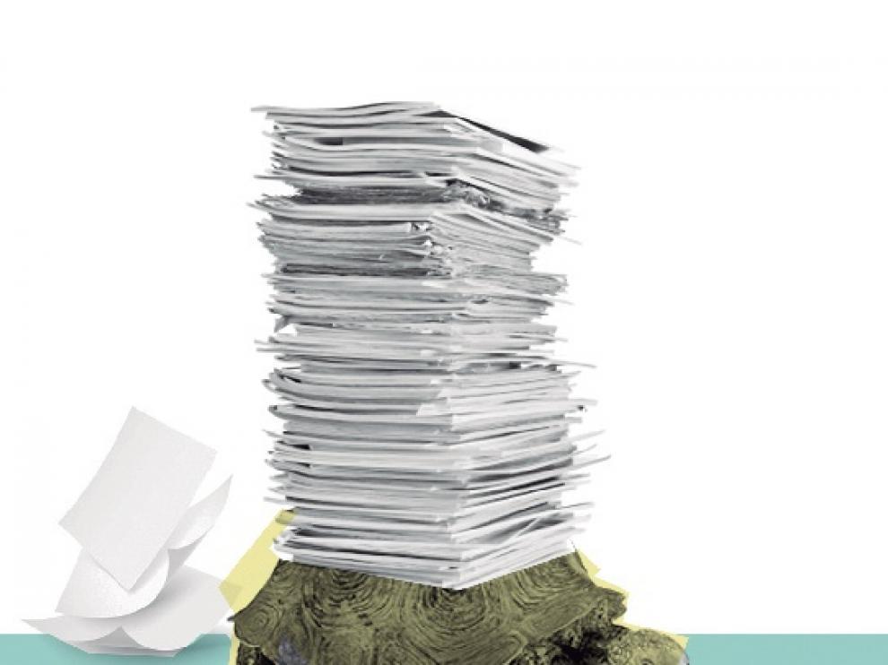 El exceso de burocracia hace más lenta a la Administración