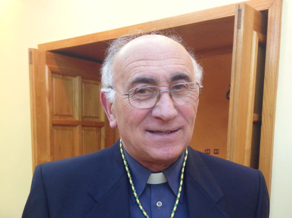 Jesús Lizalde, canónigo archivero y maestro de capilla de la Catedral.