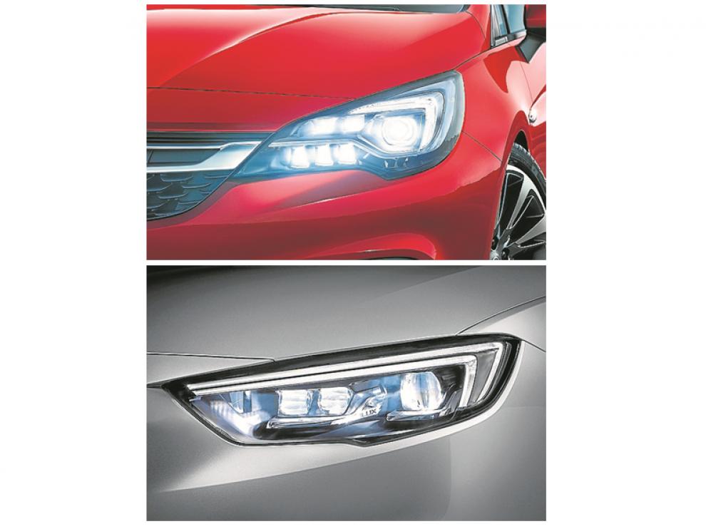 El Corsa, ofrecerá en su nueva versión el sistema de iluminación matricial Intellilux Led.