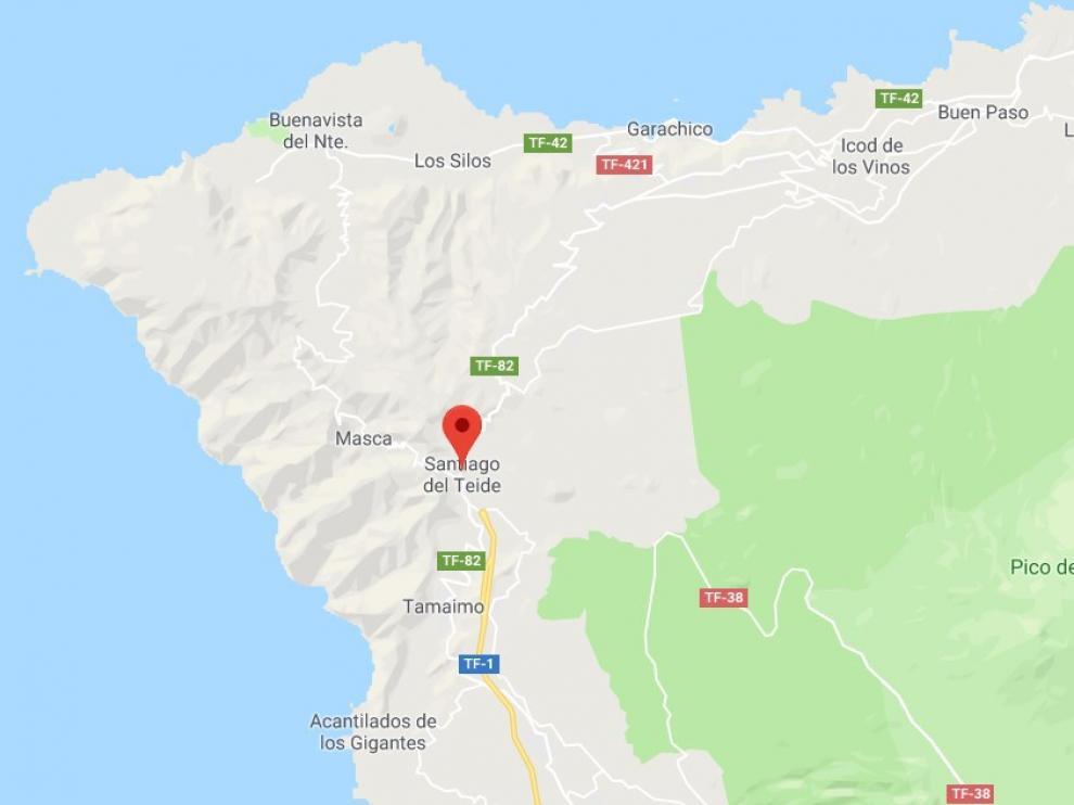El incidente ocurrió en la avenida de José González Forte, pasadas las 15.00 de este lunes.