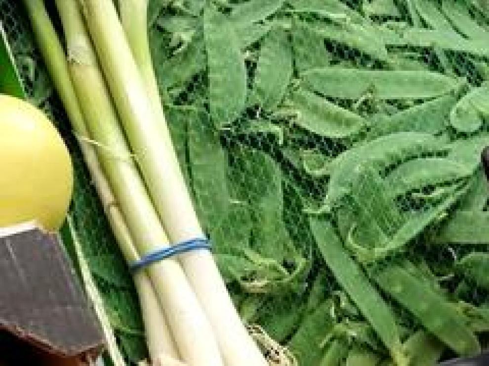 Las verduras de temporada de la ribera del Ebro