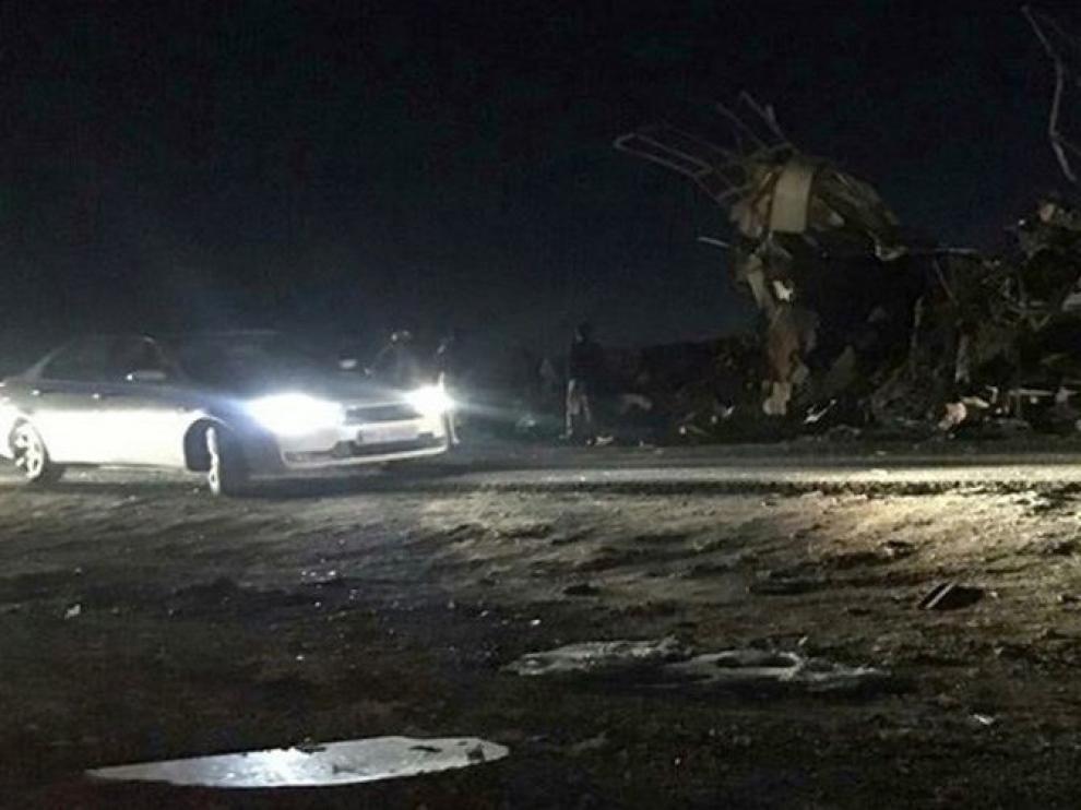 El atentado terrorista tuvo lugar en el sureste del país, en la zona de Chanali, situada en la provincia de Sistán y Baluchistán.