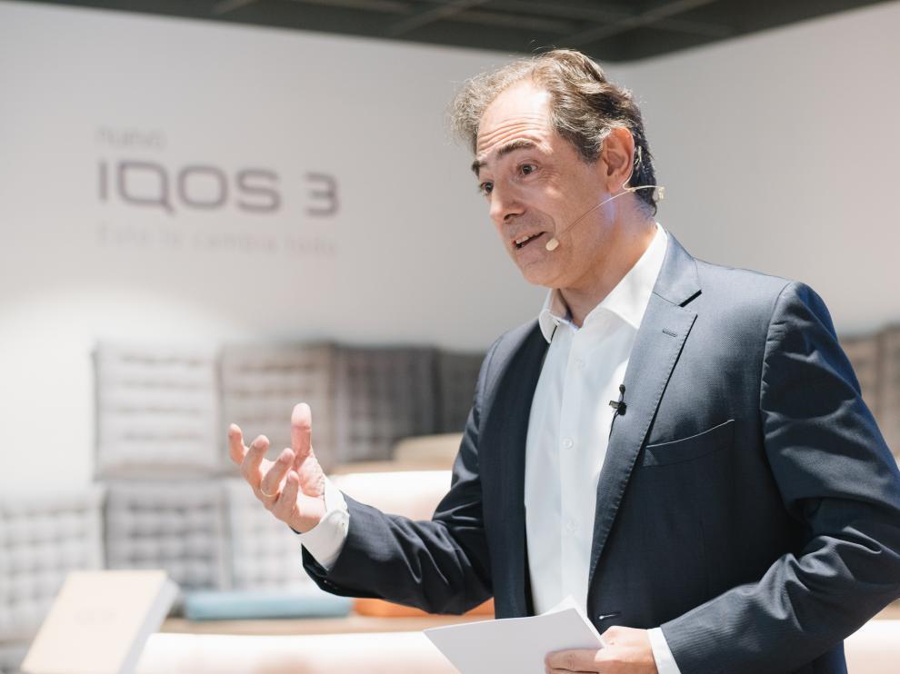 Enrique Jiménez, director general de Philip Morris en España