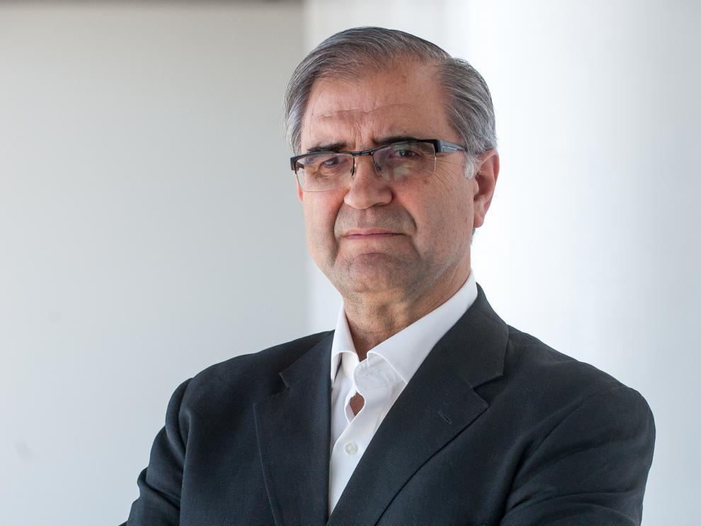 El economista José Antonio Herce ofrece una conferencia este miércoles en Zaragoza.