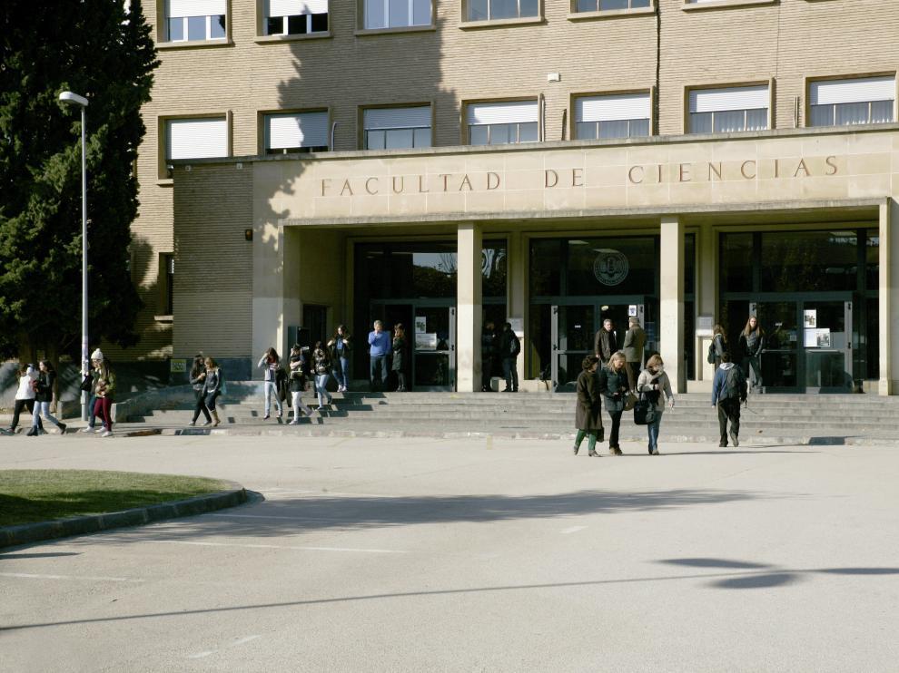 Facultad de Ciencias de la Universidad de Zaragoza.