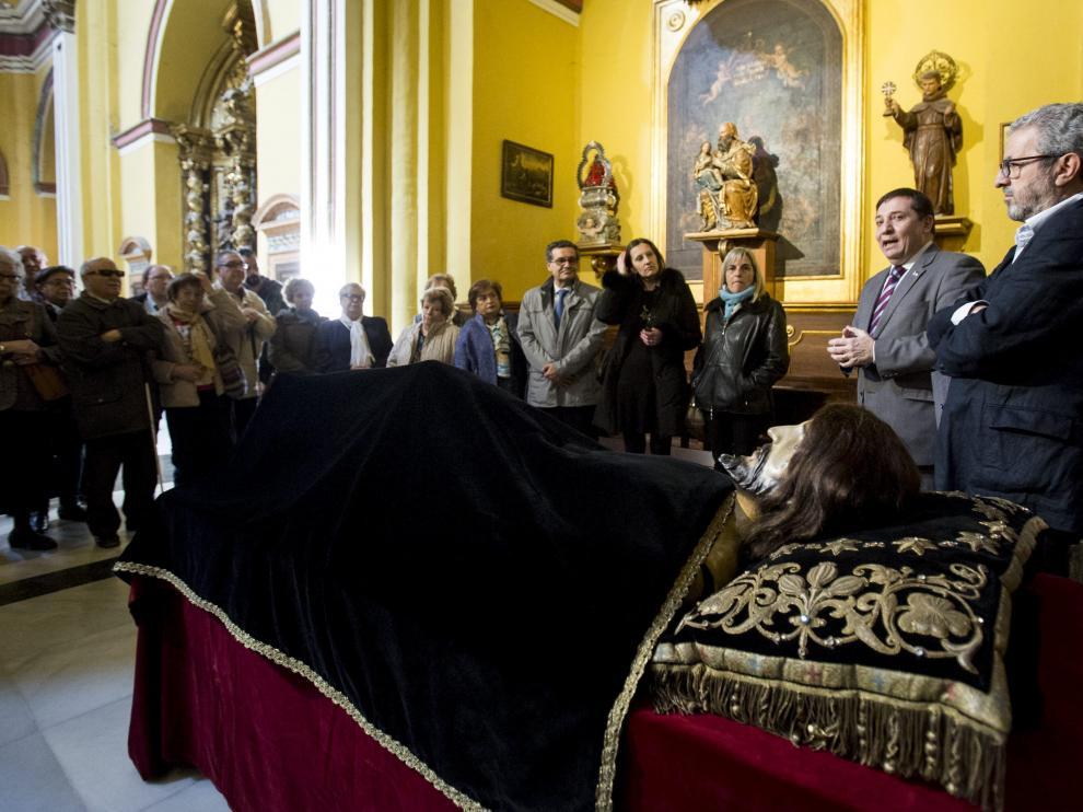 Una de las actividades que promueve la asociación. Ricardo Navarro, a la derecha.