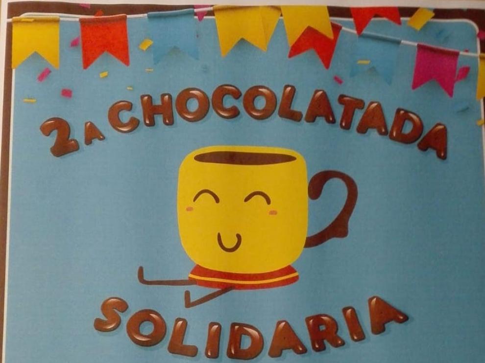 Chocolatada solidaria por la investigación contra el cáncer infantil en Pomar de Cinca.