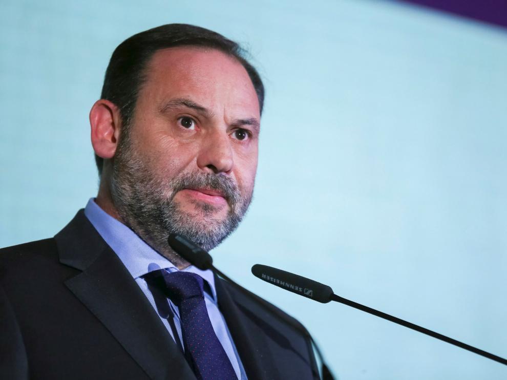 El ministro de Fomento, José Luis Ábalos.