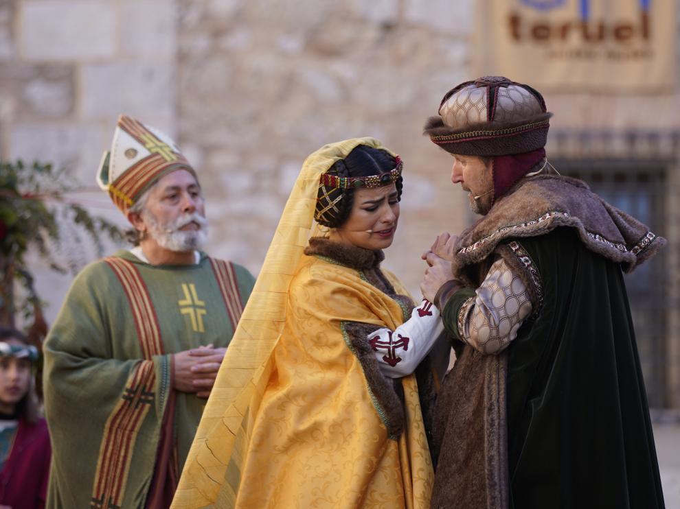 La boda de Pedro de Azagra e Isabel de Segura, el preludio de la tragedia