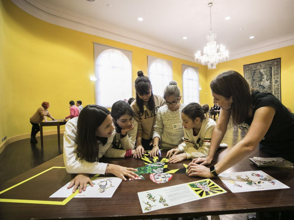 Uno de los actos realizados en Zaragoza con motivo del Día de la Mujer en la Ciencia.