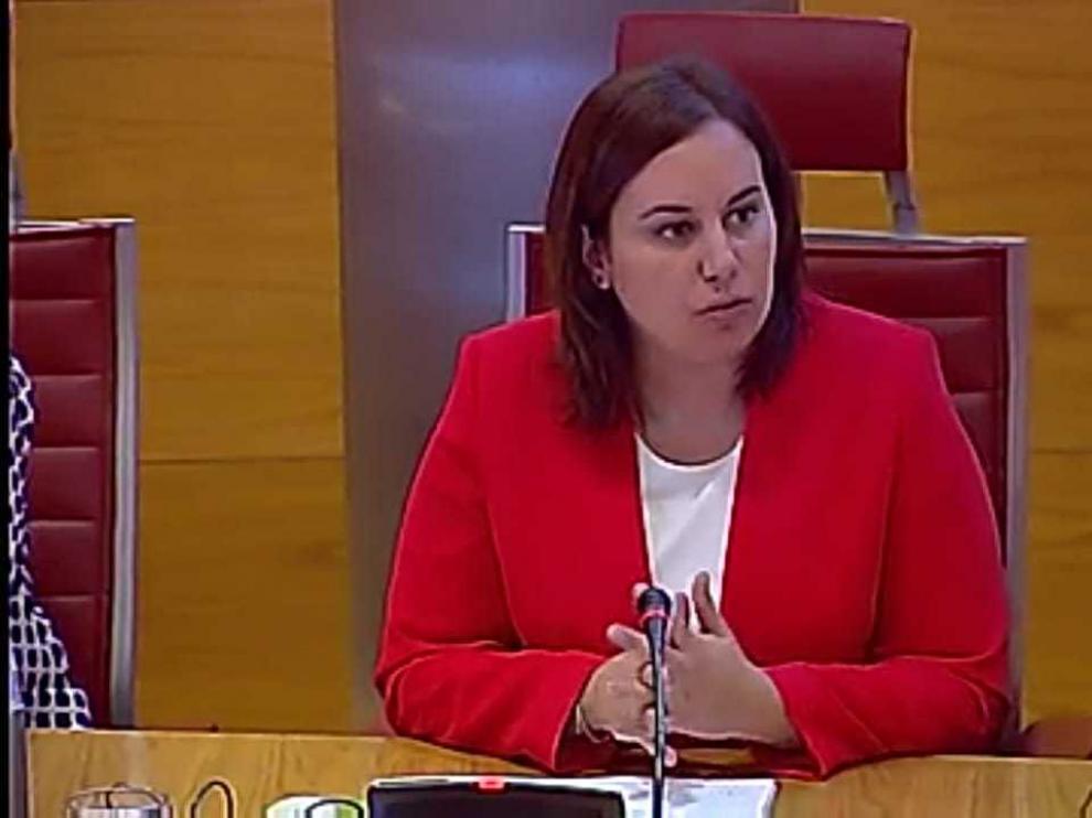 Comparecencia de Beatriz Albiac, presidenta de la Asociación de Prematuros de Aragón (Araprem), en la comisión del Senado