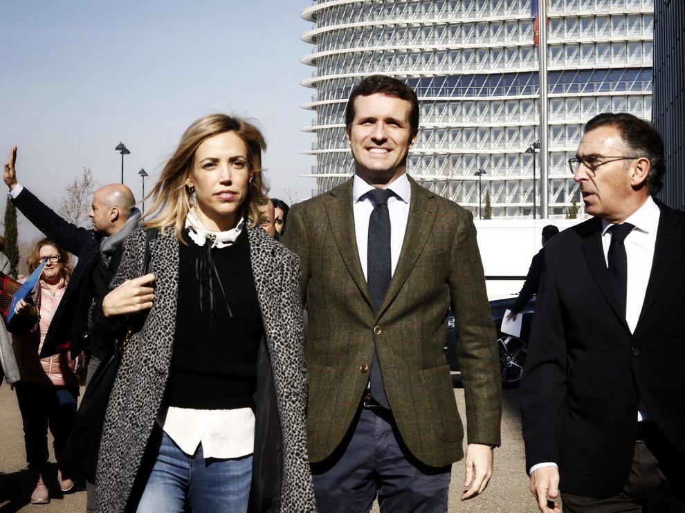 Casado preside la convención del PP en Zaragoza