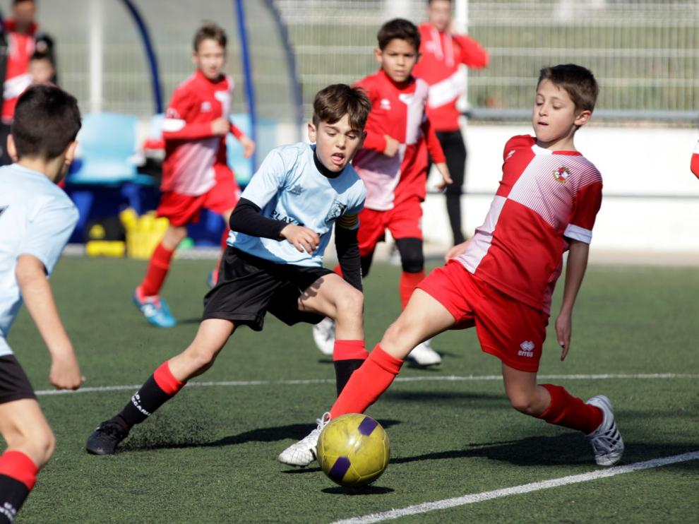 Fútbol. Benjamin Preferente Actur vs Montecarlo