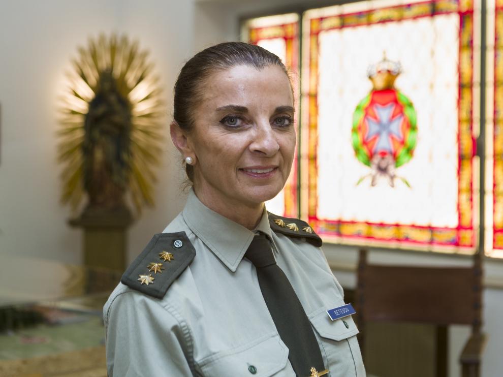 Ana Betegón, coronel médico, directora del Militar.