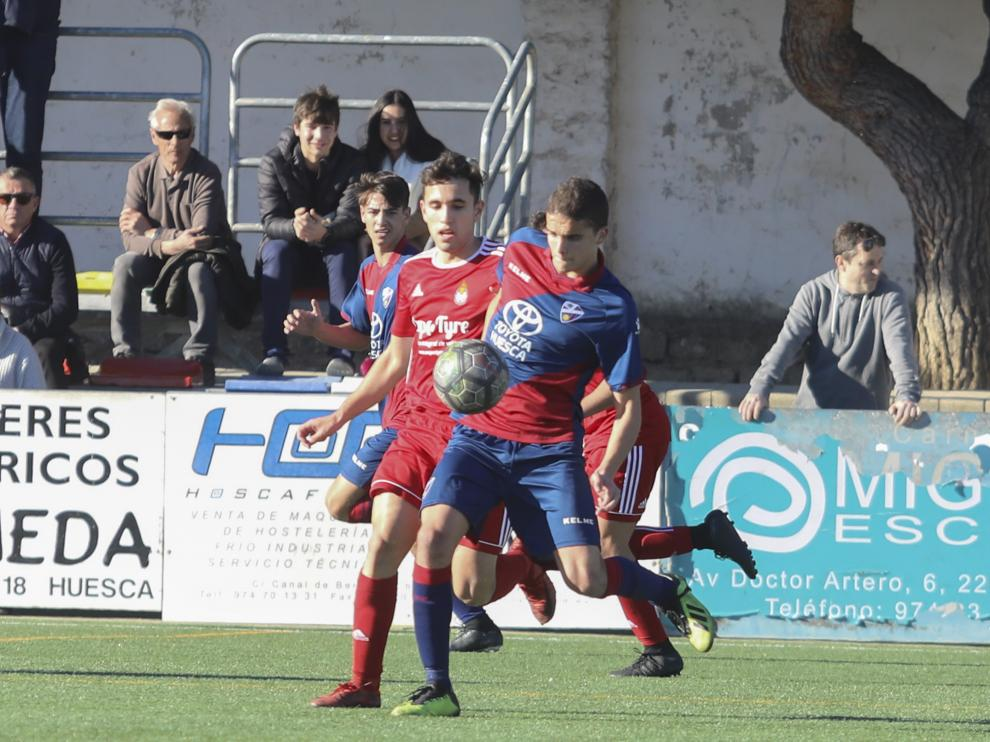 Fútbol. LNJ- SD Huesca vs. Amistad.