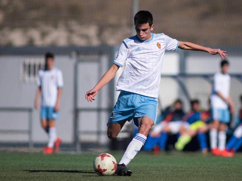 Fútbol. LNJ- Real Zaragoza vs. Marianistas.