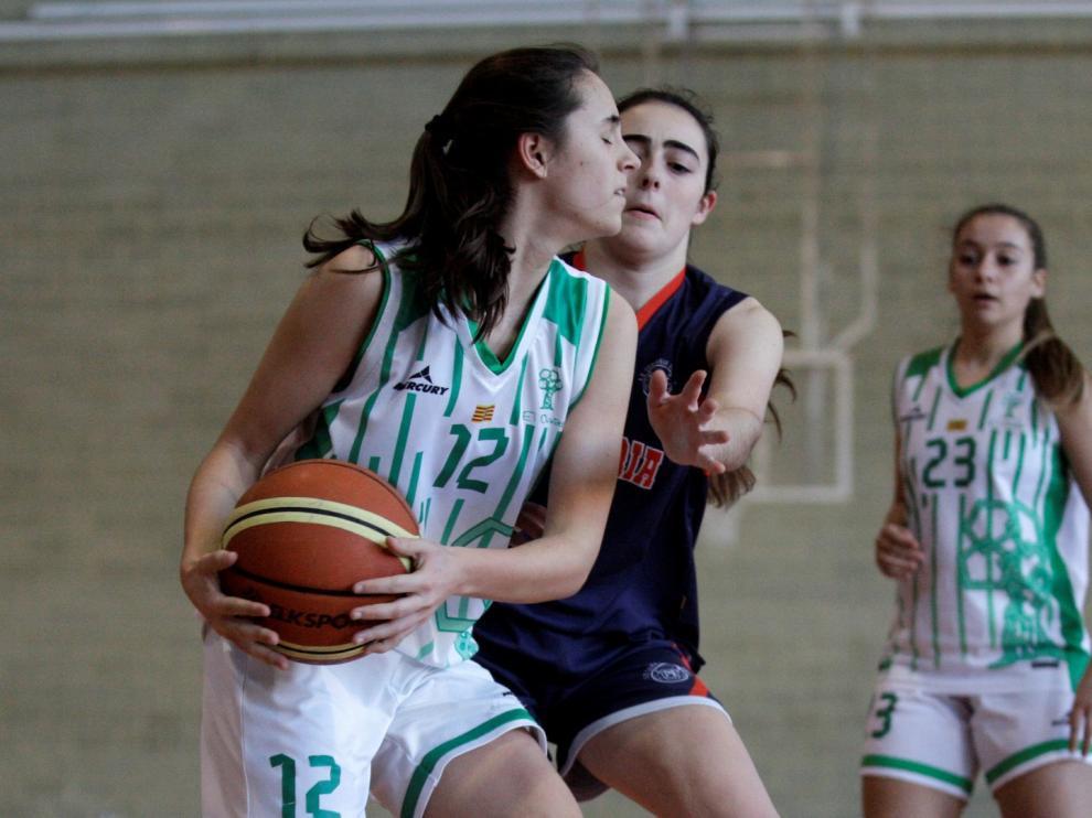 Baloncesto. Junior Femenino- Cia María vs. El Olivar.