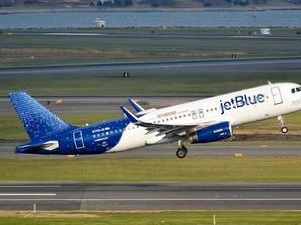 Ocurrió en un avión de la compañía JetBlue