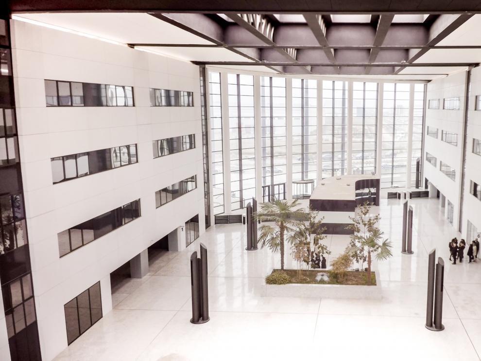 Interior del Edificio Náyade en Plaza.