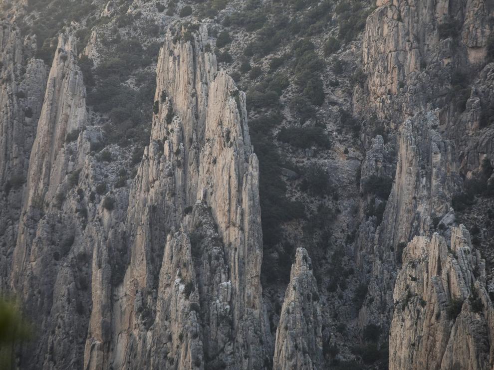 Los Órganos de Montoro, un referente geológico incluido en 'Geología de Teruel'.