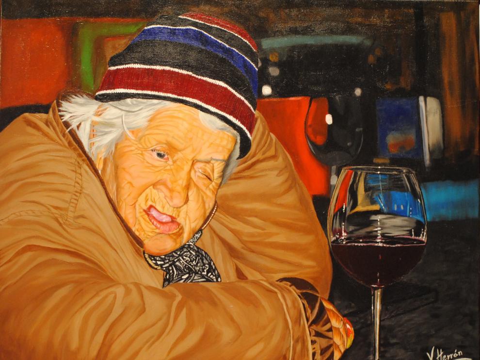 La obra desaparecida, titulada 'Soledad'.