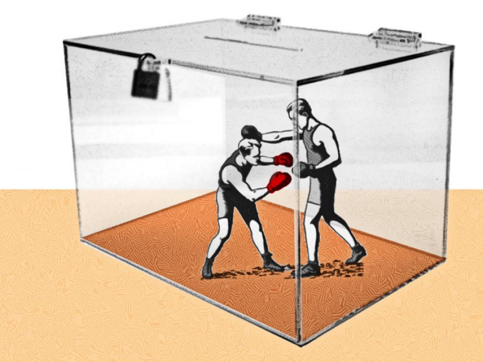Se vaticina una gran fragmentación política en las elecciones del 28 de abril.