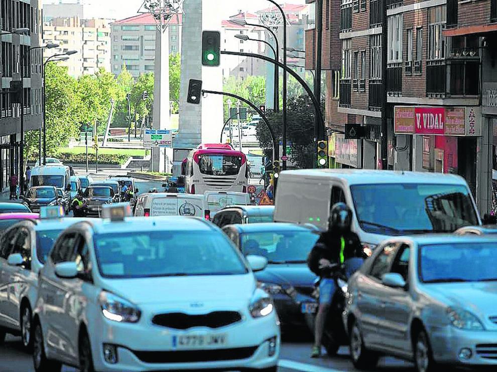 La ciudad registra 885.374 desplazamientos diarios de vehículos privados y del transporte público