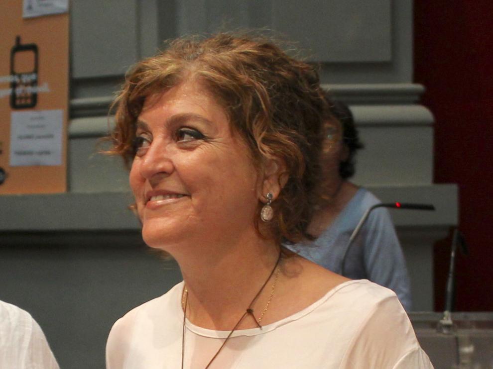 Angela Alcalá es la vicerrectora de Estudiantes y Empleo de la Universidad de Zaragoza.
