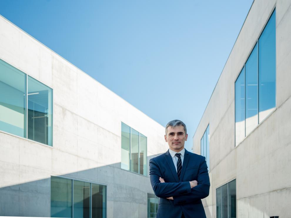 Luis Carlos Correas es el vicerrector de Investigación, Posgrado y Empresa de la USJ.