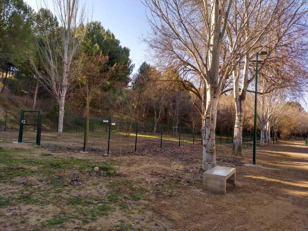 El 'Pipican' cuenta con un paseo lineal y una zona vallada para la suelta de perros.