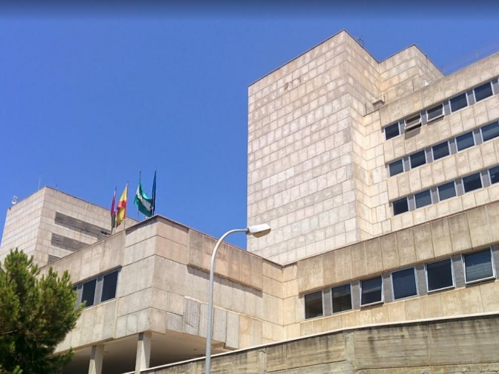 La fachada del Hospital Materno Infantil de Málaga.