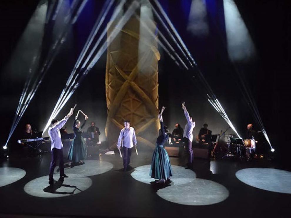 Un momento de 'Vida', espectáculo ideado y coreografiado por Ramón Artigas