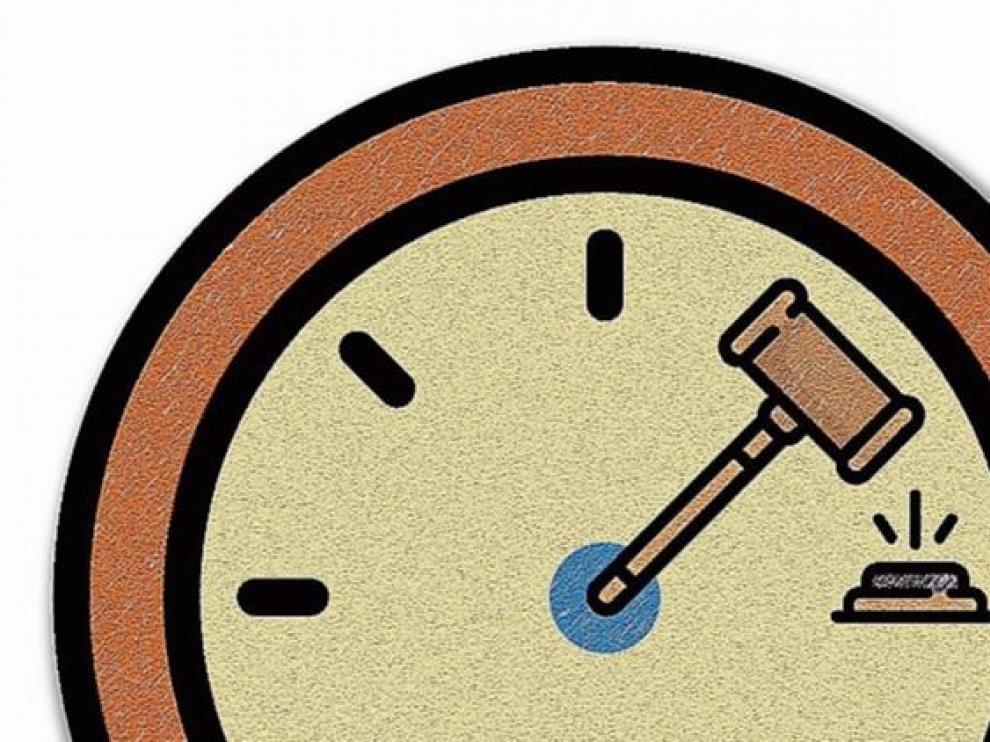 Los retrasos en la Justicia son un problema.