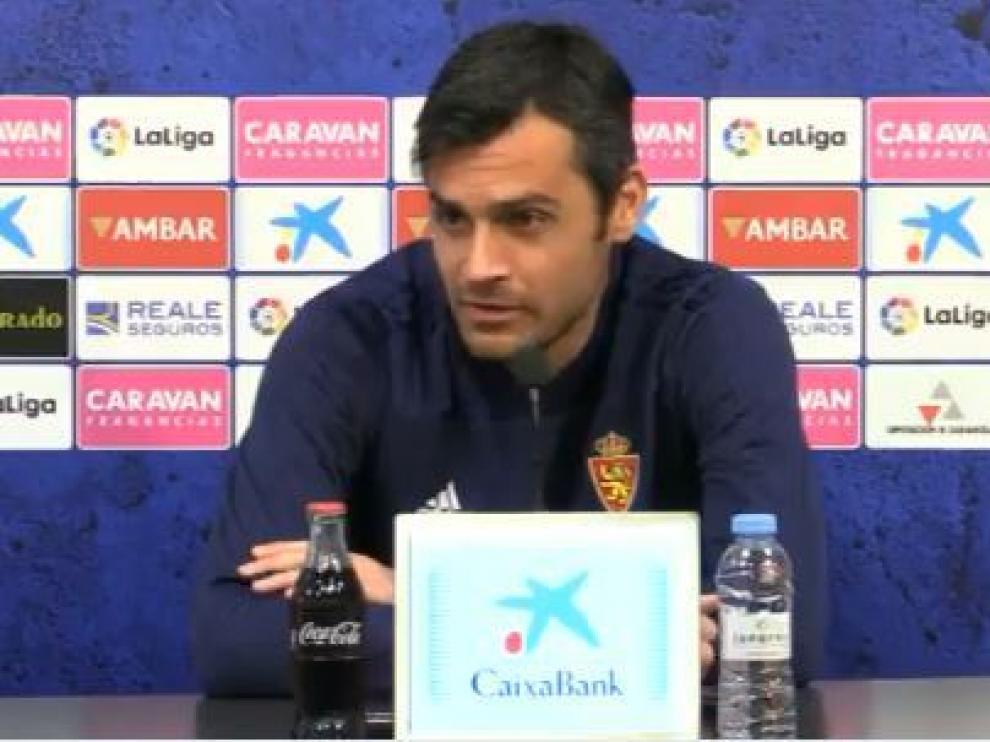 Dorado, este martes en la sala de prensa de la Ciudad Deportiva.