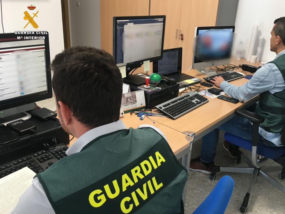 La Guardia Civil de Huesca ha llevado a cabo la investigación