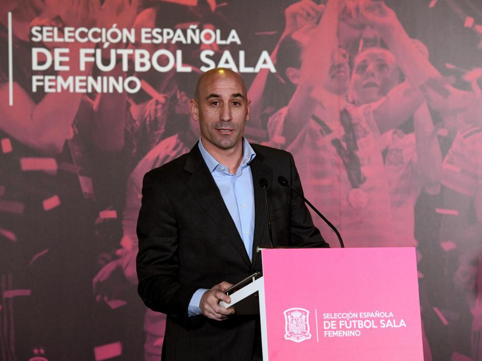 Luis Rubiales, en una imagen de esta semana.