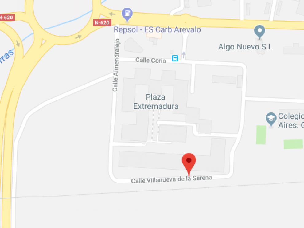 Una dotación policial se encontraba en la calle Villanueva de la Serena de Salamanca cuando salió en persecución del vehículo.