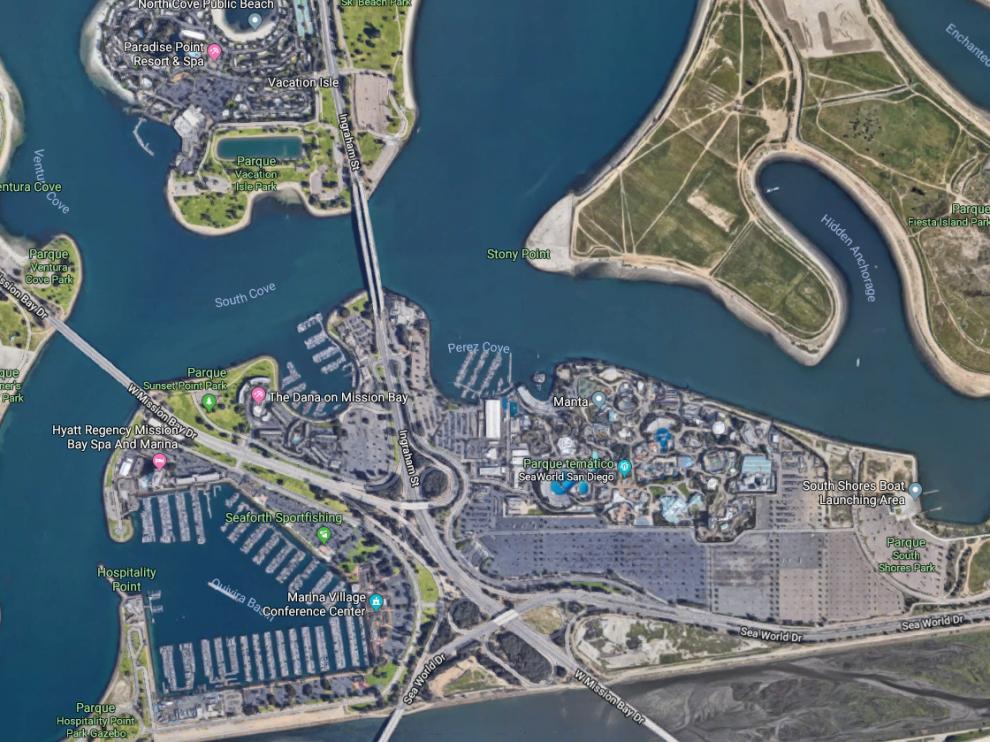 El suceso ha tenido lugar en el parque temático SeaWorld de la ciudad californiana de San Diego, Estados Unidos.