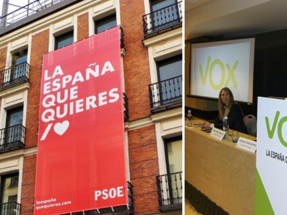 El lema 'La España que quieres' con el que el PSOE ha abierto su precampaña, lo usó con anterioridad Vox.