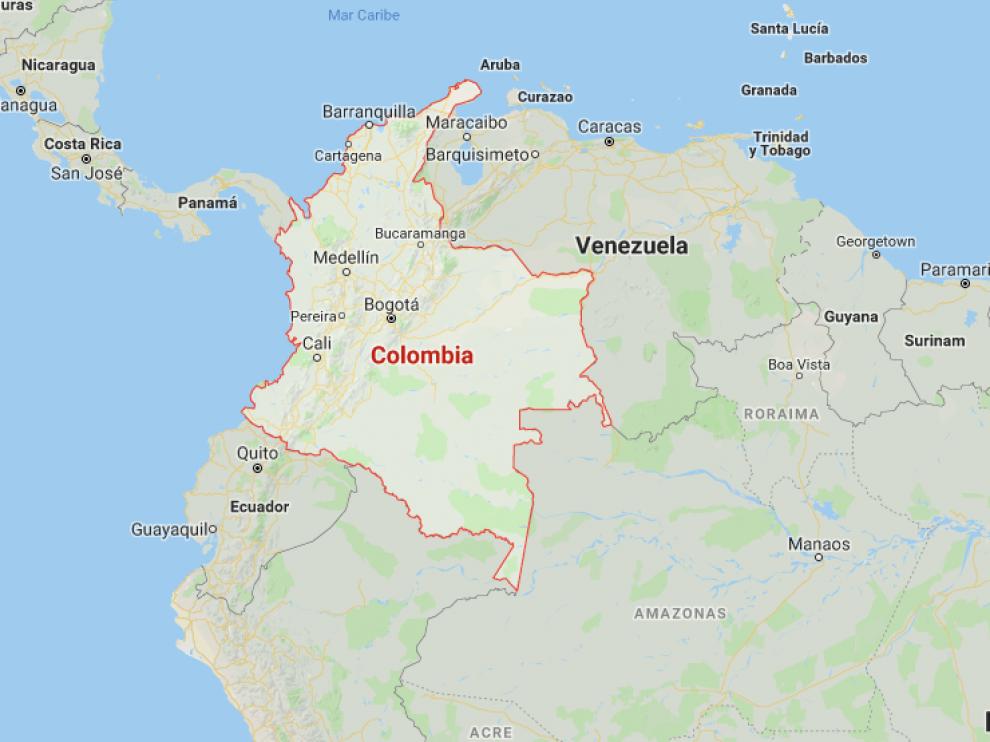 Colombia y Venezuela comparten una amplia frontera