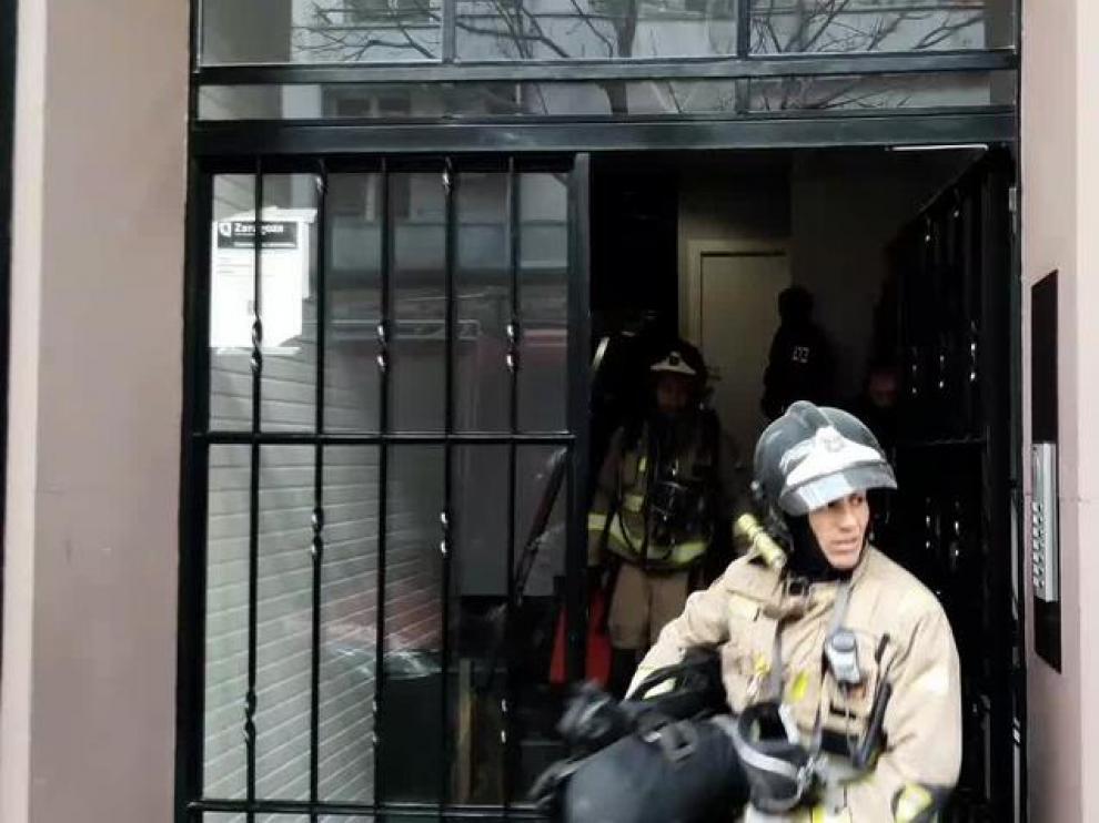 Sofocado un pequeño incendio en una vivienda de Pedro María Ric